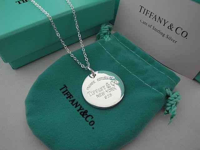 Tiffany Necklace 1837 Round Jewellery