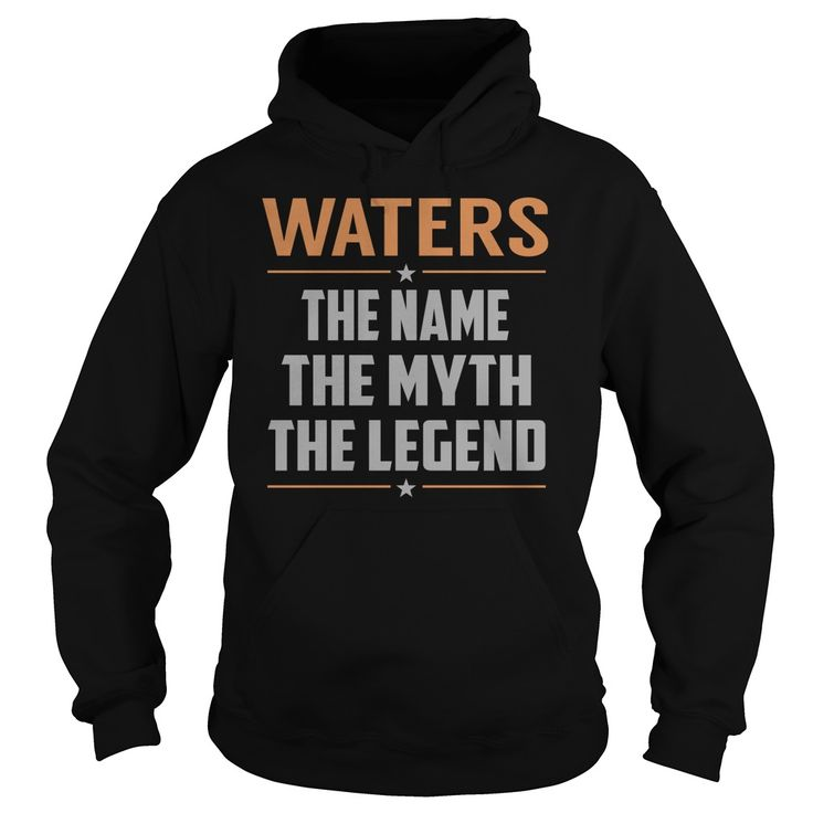 WATERS The Myth, Legend - Last Name, Surname T-Shirt