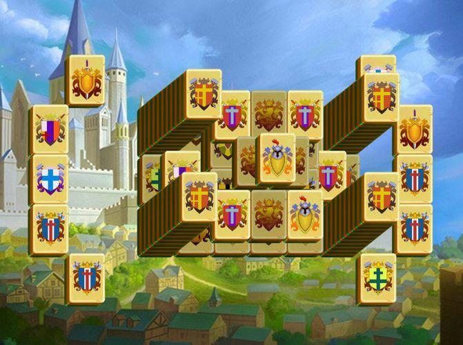 Az uralkodóknak is kijár egy király madzsong, hogy eljátszadozhassanak a különböző címerekkel. Segítsünk nekik!