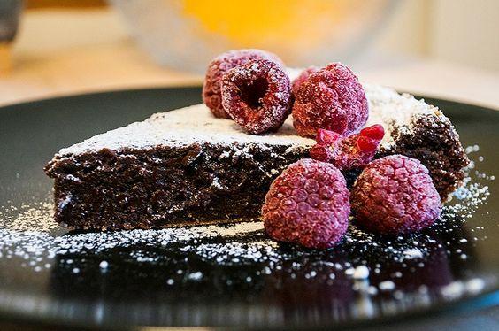 BlubbAndZombie: Recept på vegansk kladdkaka!