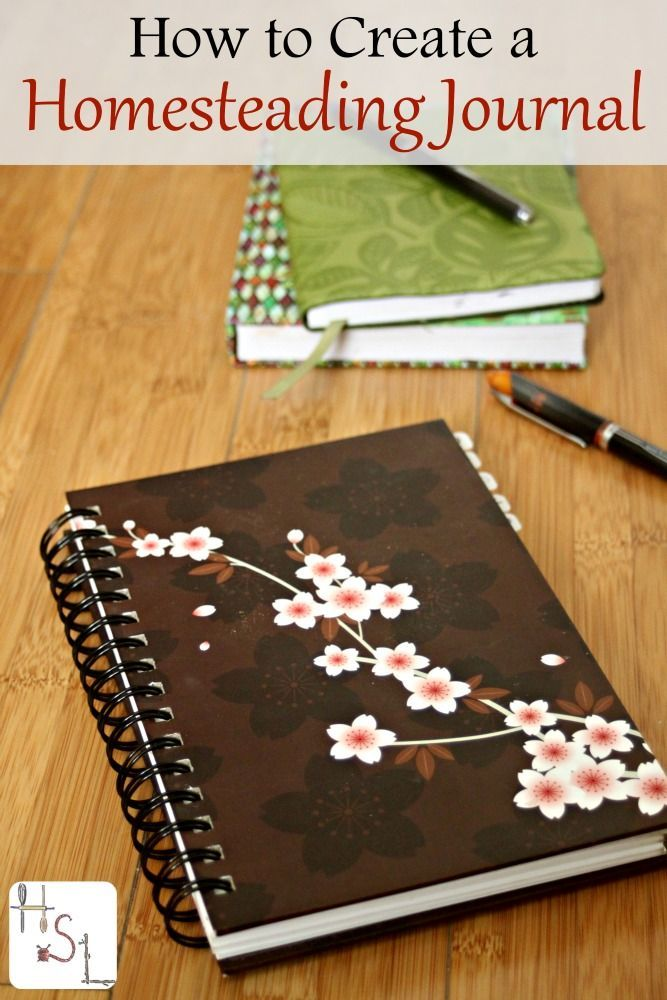 Learning how to create a homesteading journal helps with organization, planning, & provides a foundation to achieve all those amazing goals.: