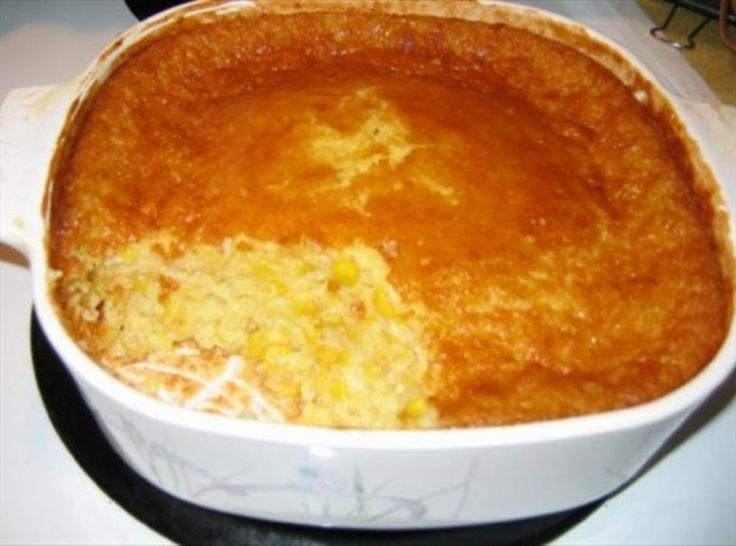 Corn Pudding - my Aunt Rose makes this the best!