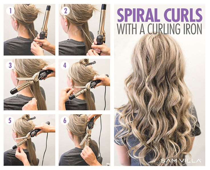 Stupendous 17 Best Ideas About Spiral Curls On Pinterest Perms Curly Perm Short Hairstyles Gunalazisus
