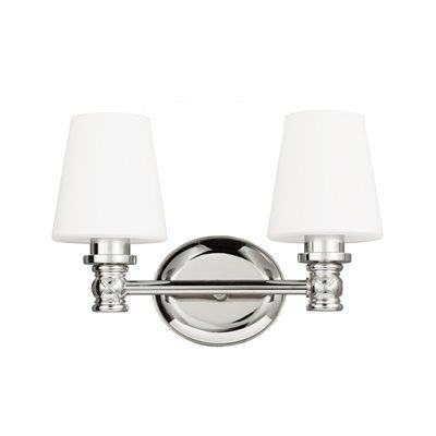 Feiss VS22102 Xavierre 2-Light Bath Vanity Light