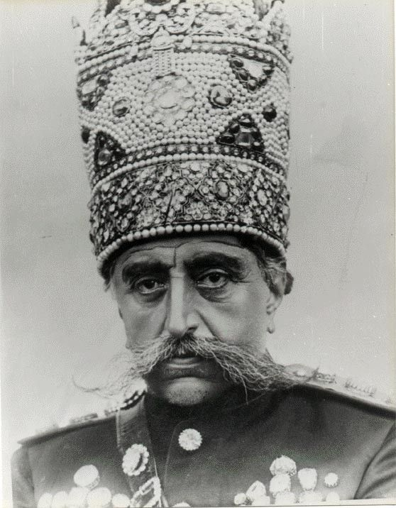 Mozaffar-ed-Din Shah Qajar (Shah of Persia from 1896 to 1907)