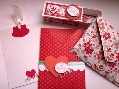 """Meinem Valentinsschatz"" und ""Simply Sent Liebesgruß"" My Valentine Sweetheart ""and"" Simply Sent Love Greeting "" By:stampinwithfanny"