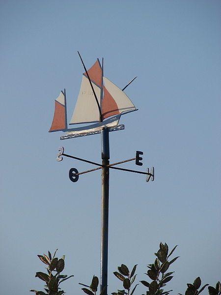 Girouette thonier à l'Ile d'Yeu.