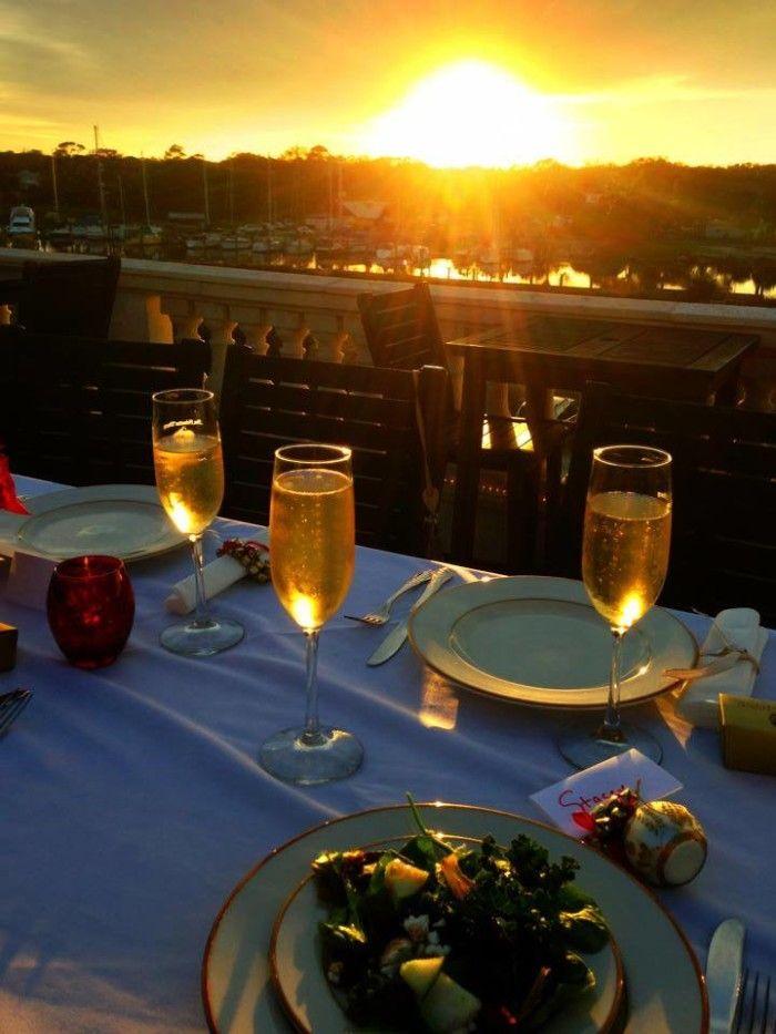 Best rooftop dining in Florida. Here:  San Sebastian Winery, St. Augustine