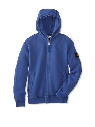 53% OFF Stone Island Kid's Hoodie (Cappuccino/Royal)