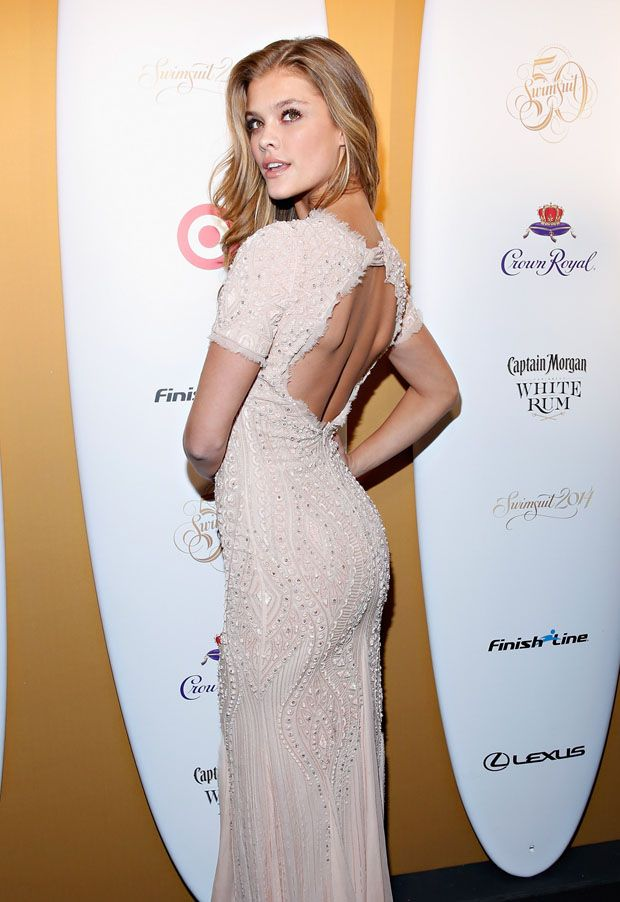 Nina Agdal - Captain Morgan White Rum And Crown Royal XO Raise A Glass To Sports Illustrated Swimsuit Issue