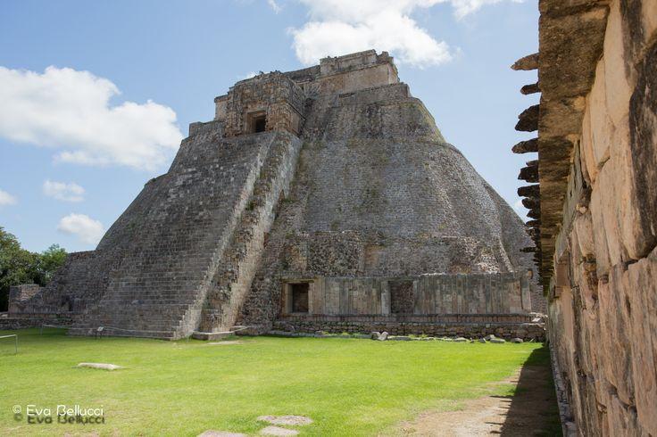 Zona Arqueológica de Uxmal ve městě Uxmal, Yucatán