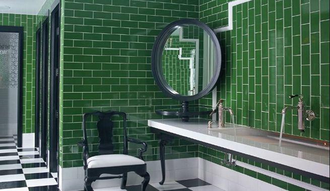 azulejos verdes