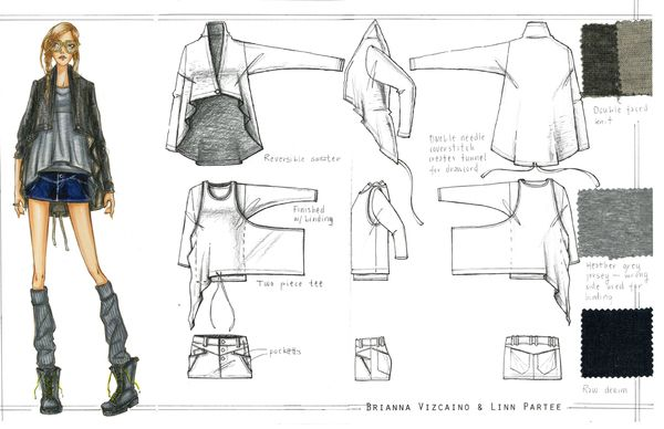 Nike/Hurley Collaboration Mentor project by Brianna Vizcaino, via Behance