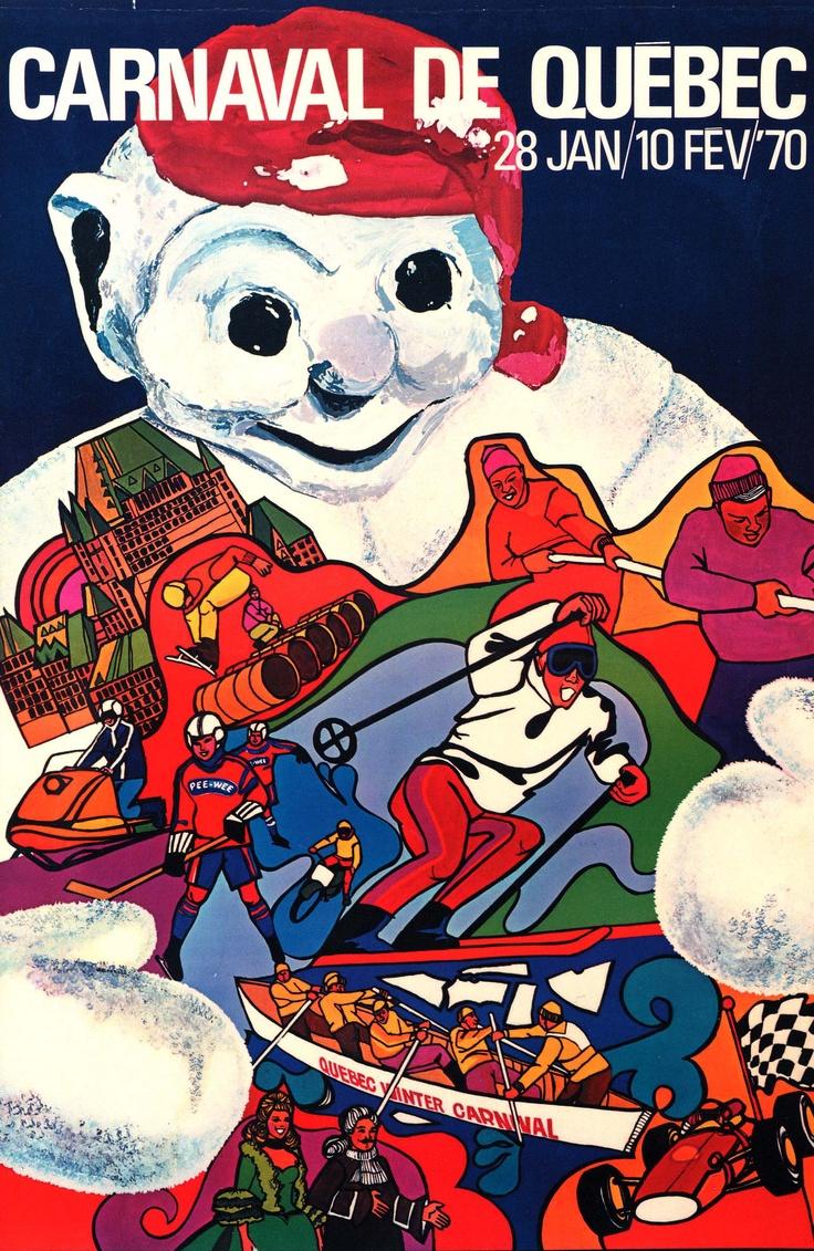 Affiche - Carnaval 1970 / Poster - Carnival 1970  Le Carnaval dans le ...