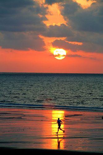Life's a beach, now let's go run it.