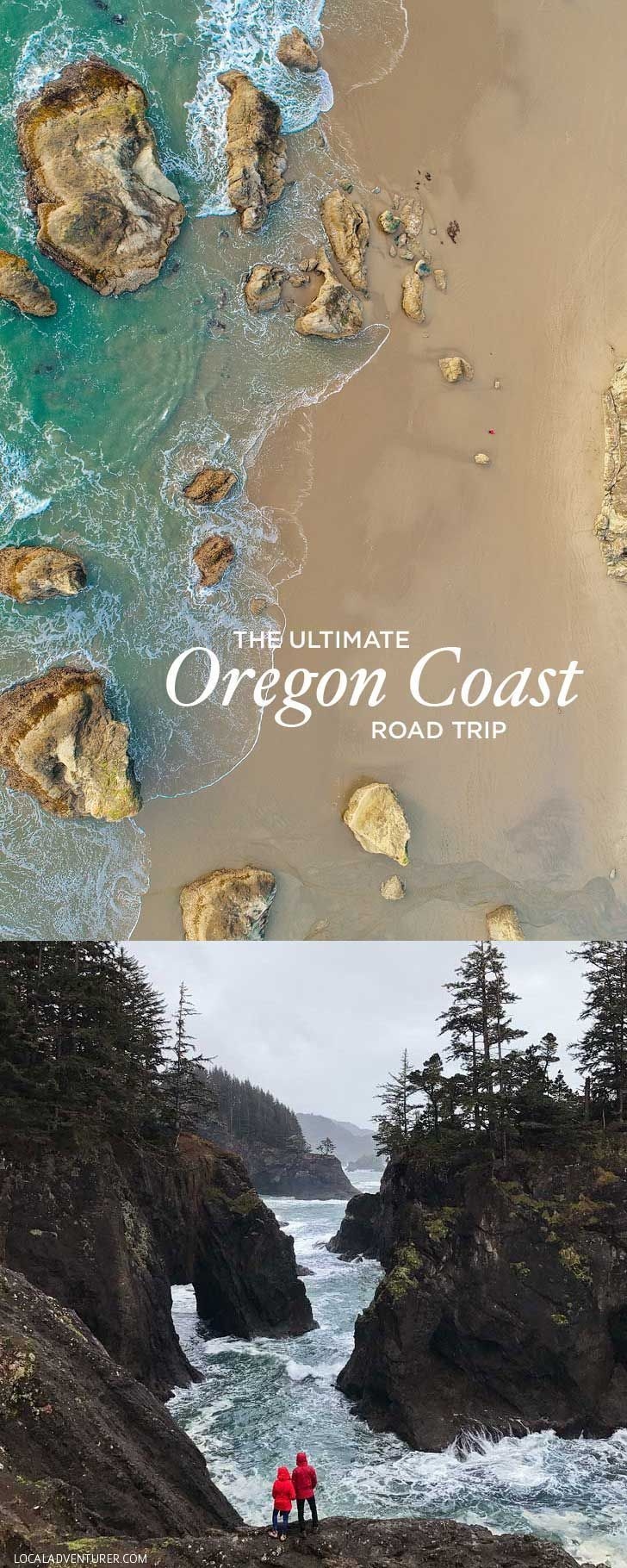 Map Of Oregon Coast%0A The Ultimate Oregon Coast Road Trip  All     Miles and All the Best Things  to