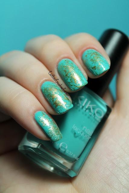Caitlin'sCreativeCorner: Nails Art, Nails Fashion, Gold Nails, Patterns Nails, Nails Fun, Nails Polish, Huge Fans, Groovi Nails, Marbles Types