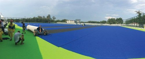 2016 Summer Olympics: Preparing the Field Hockey Playing Surface - SportsField Management
