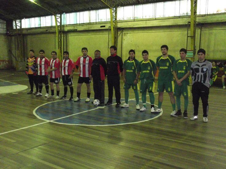 FINAL REGIONAL 2012 (CAMPEONATO REGIONAL DE BABYFOOBALL CANADELA-CHILE (GIM.COLODEPCONCEPCION)