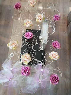Handmade by Alex: Dekoracja ślubnego samochodu... Wedding car decora...