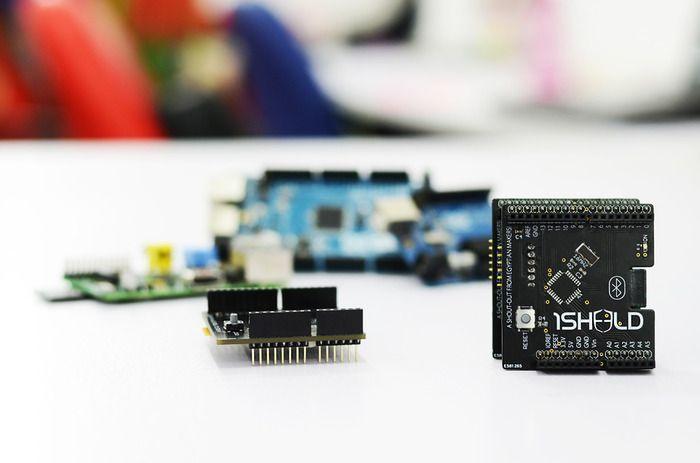 1Sheeld: Replace your Arduino shields with your smart phone! by Integreight, Inc. — Kickstarter [http://www.kickstarter.com/]