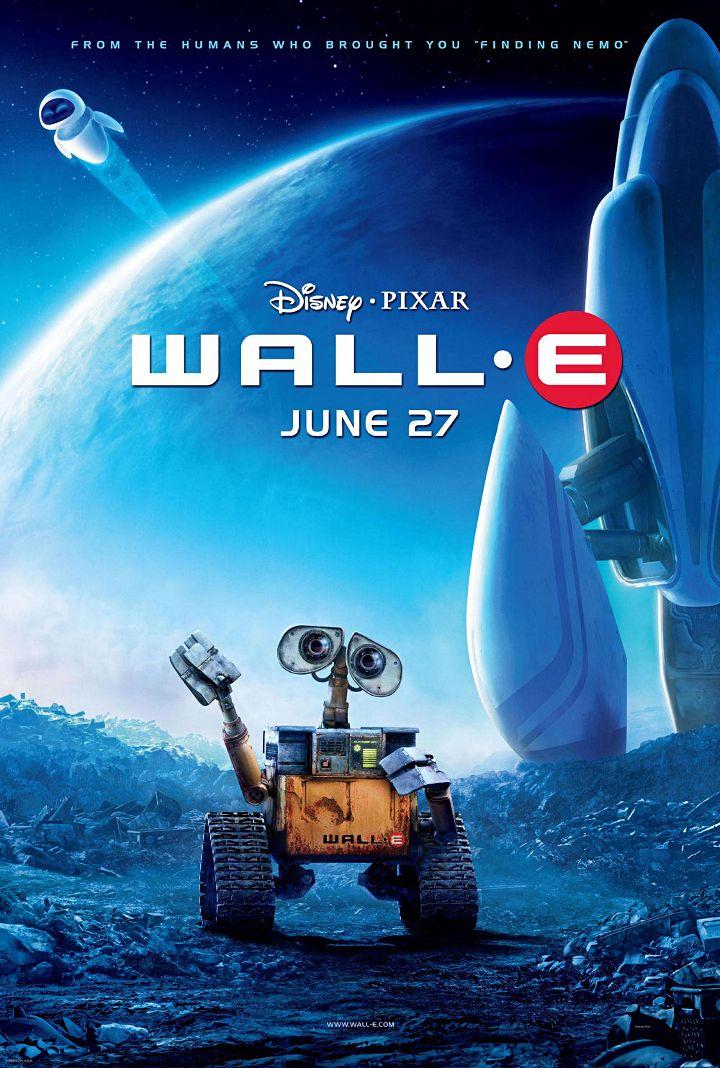Pixar-perjantai: Wall-e - Disnerd dreams
