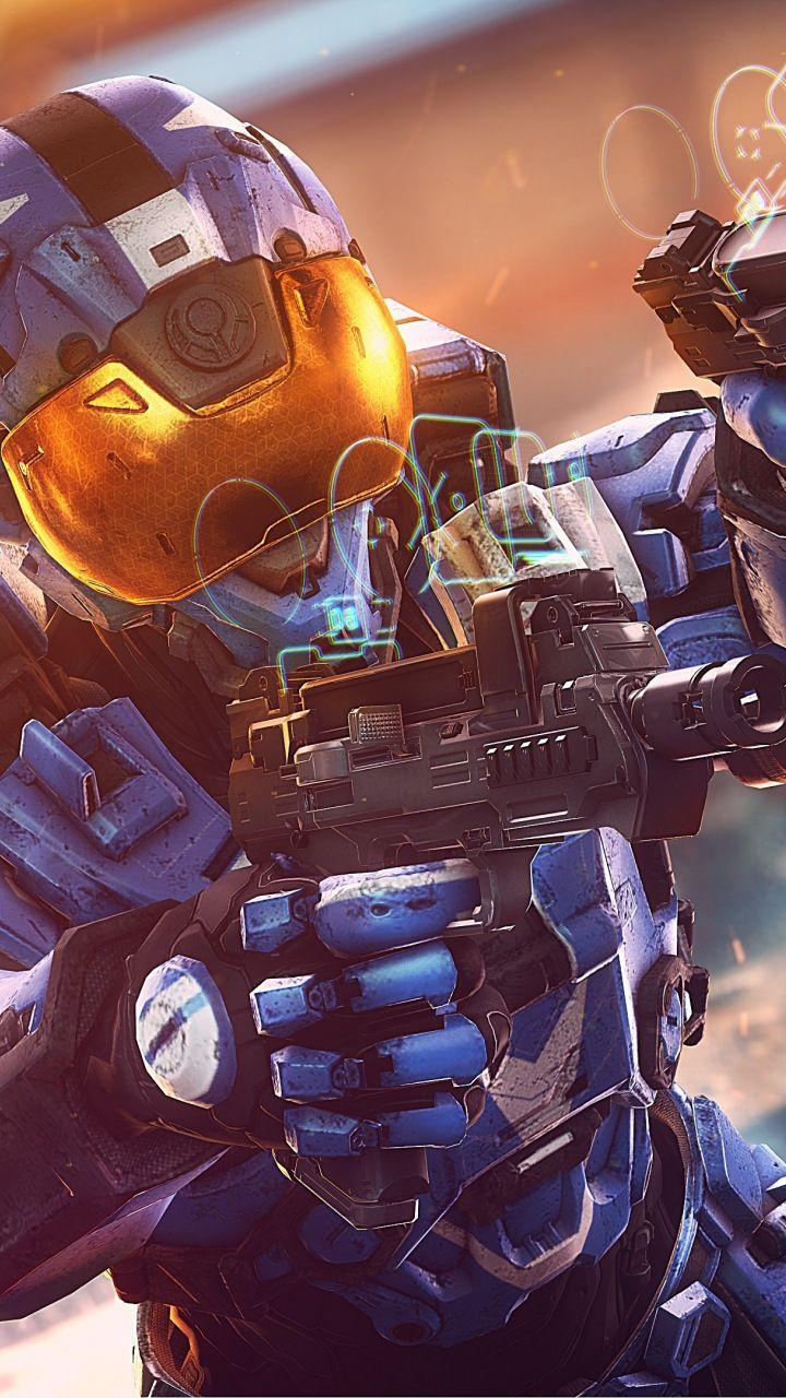 Halo, smart scopes, soldier, modern suit, 720x1280 wallpaper