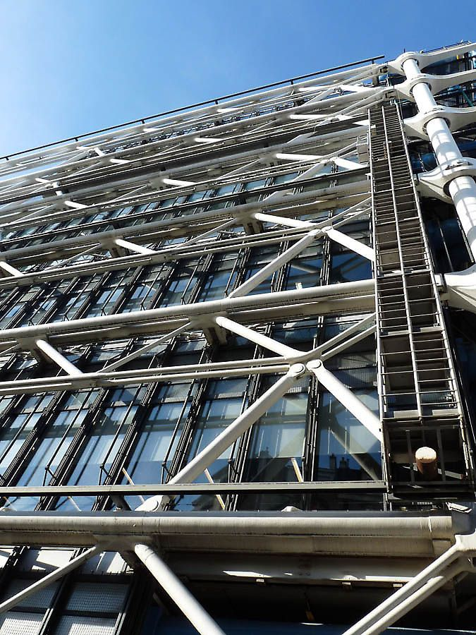 135 best images about richard rogers on pinterest - Centre george pompidou architecture ...