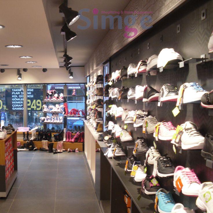 Ayakkabı Mağazası Dekorasyonu 05