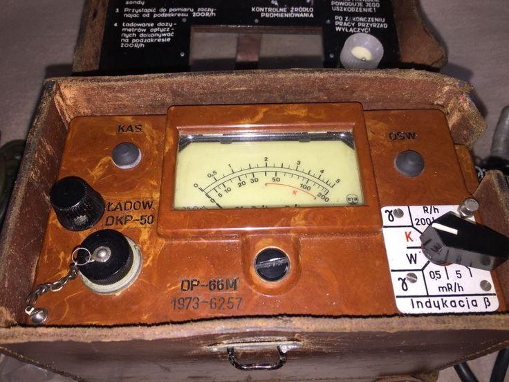 Geigerzähler DP-66M Verstrahlungsmessgerät Rentgenoradiometer Beta Gamma um 1973