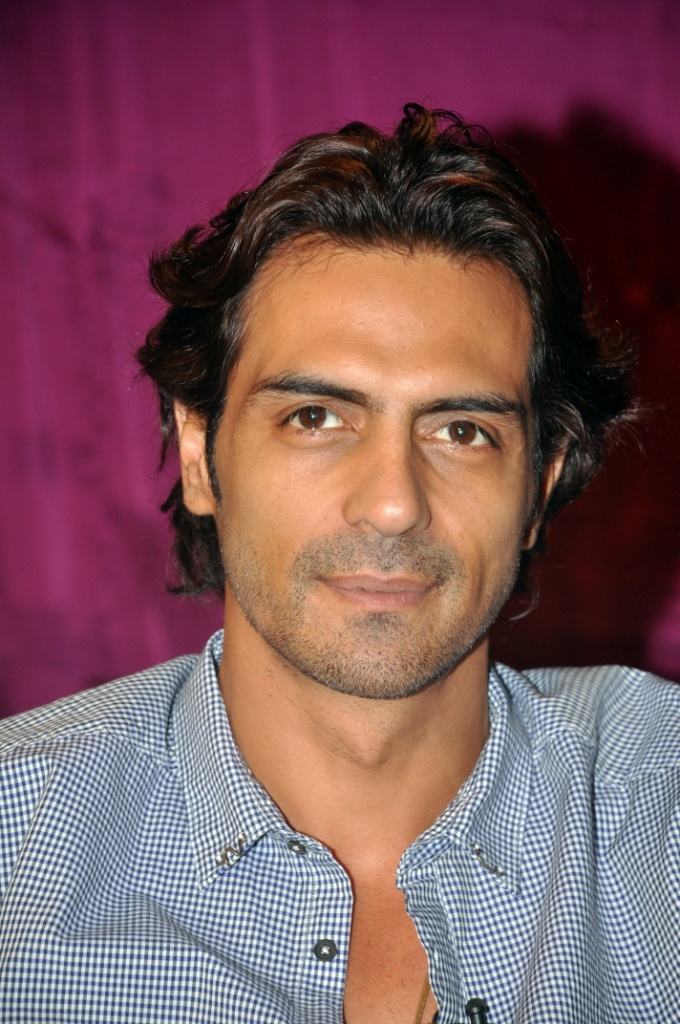 Arjun Rampal - Yet another handsome dimpled Indian actor.