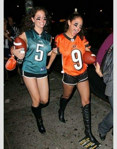Halloween NFL player costume