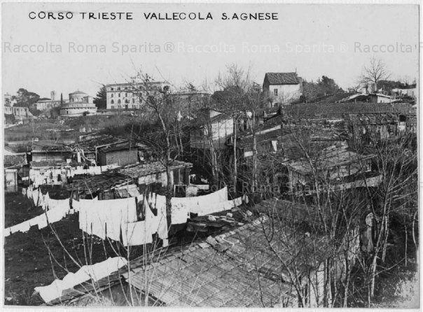 Roma Sparita - Corso Trieste. Baraccopoli Vallecola S.Agnese