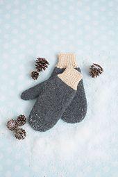 Ravelry: Snow Day Mittens pattern by Melissa Metzbower