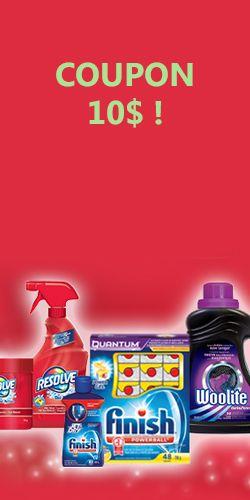 Rabais de 10$ pour savon Finish ou Woolite. Fin le 4 janvier. http://rienquedugratuit.ca/coupons/rabais-de-10-pour-savon-finish-ou-woolite/