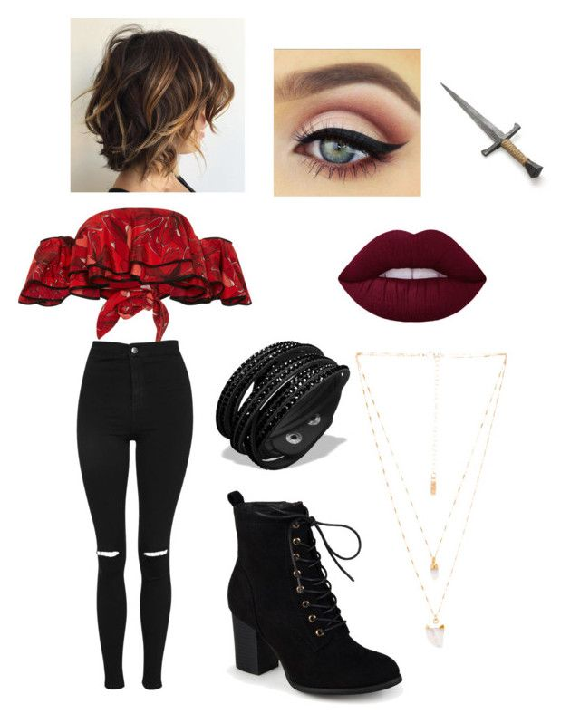 """""""Harley Hook (Harry hooks sis)"""" by shelbygrace920 on Polyvore featuring Johanna Ortiz, Topshop, Journee Collection and Natalie B"""