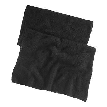 Ralph Lauren Women's Black Mohair Blend Shawl Wrap Scarf