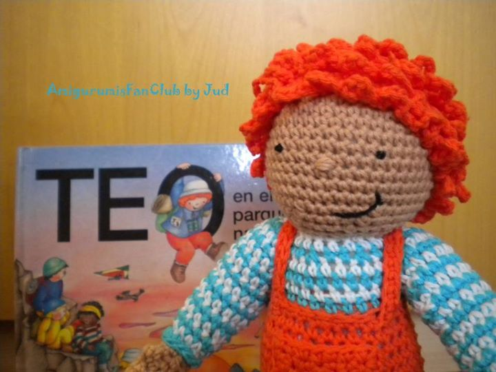 Amigurumi Teo ~Patrón Gratis en Castellano click:  https://www.facebook.com/photo.php?fbid=380044162083033&set=pb.310161399071310.-2207520000.1372865969.&type=3&theater