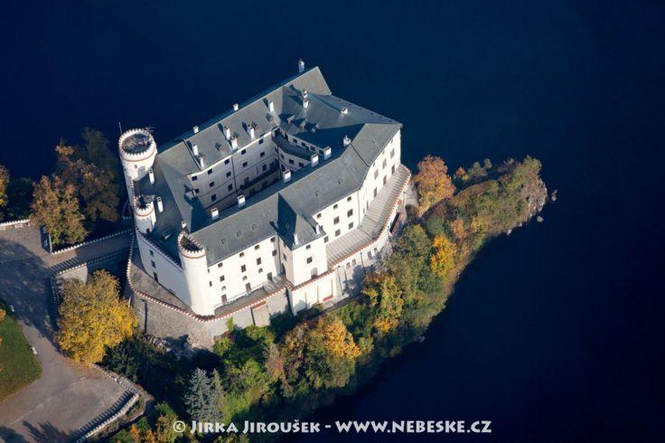 Podzimní zámek Orlík /J840