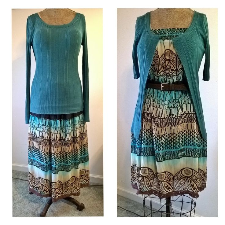 Hello Refashion Co-op. I had this nice skirt and top that didn't work for me. Everything was so long on me. I pulled the skirt up and wore ...