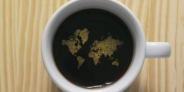 Today is national coffee day in America, which is ironic since coffee isn't even grown in America! But check the amazing number of places it is grown....