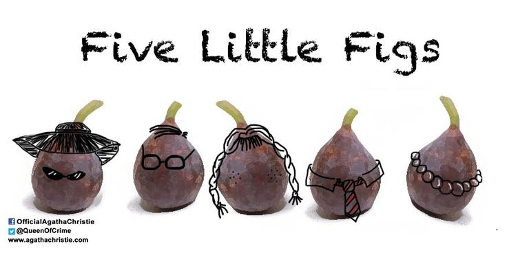 """Five Little Figs"" Each one looks more guilty than the last..."