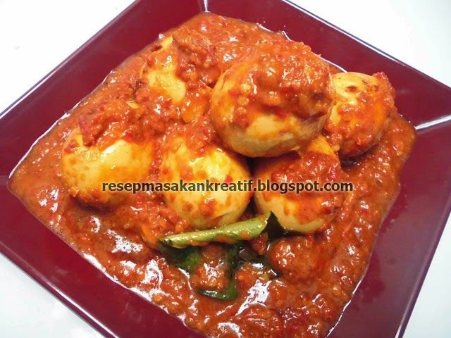 Resep Telur Bumbu Bali | Resep Masakan Indonesia (Indonesian Food Recipes)