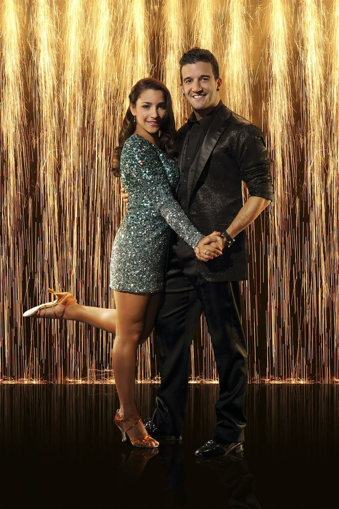 Dancing With the Stars Season 16 Cast Aly Raisman and Mark Ballas