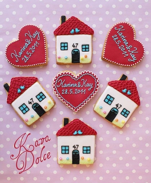 "Aren't these ""home""made cookies adorable!?"