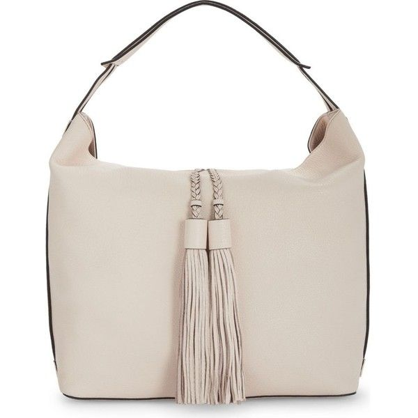 Rebecca Minkoff Isobel leather hobo bag (£270) ❤ liked on Polyvore featuring bags, handbags, shoulder bags, genuine leather shoulder bag, leather hobo handbags, leather purses, genuine leather handbags and leather shoulder bag