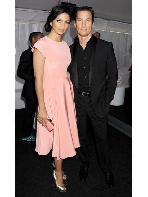 Matthew McConaughey & Camila Alves: Cannes Film Festival Celebrity Photos 2012