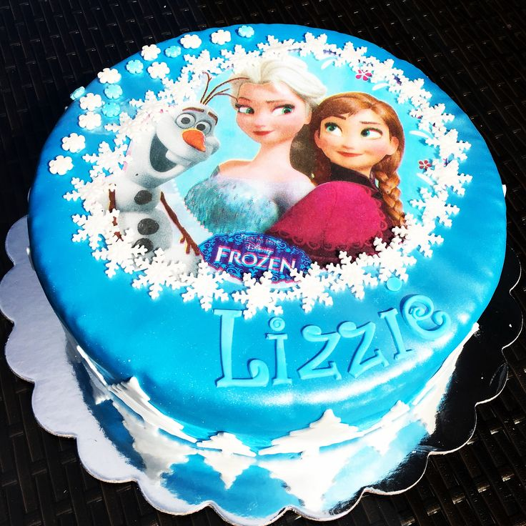 ... Pinterest  Frozen birthday cake, Frozen cake and Elsa birthday cake