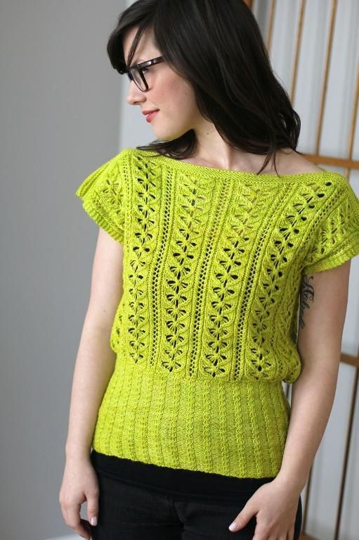 Easy, Breezy Knitting: 10 Lovely Women's Top Patterns for Summer