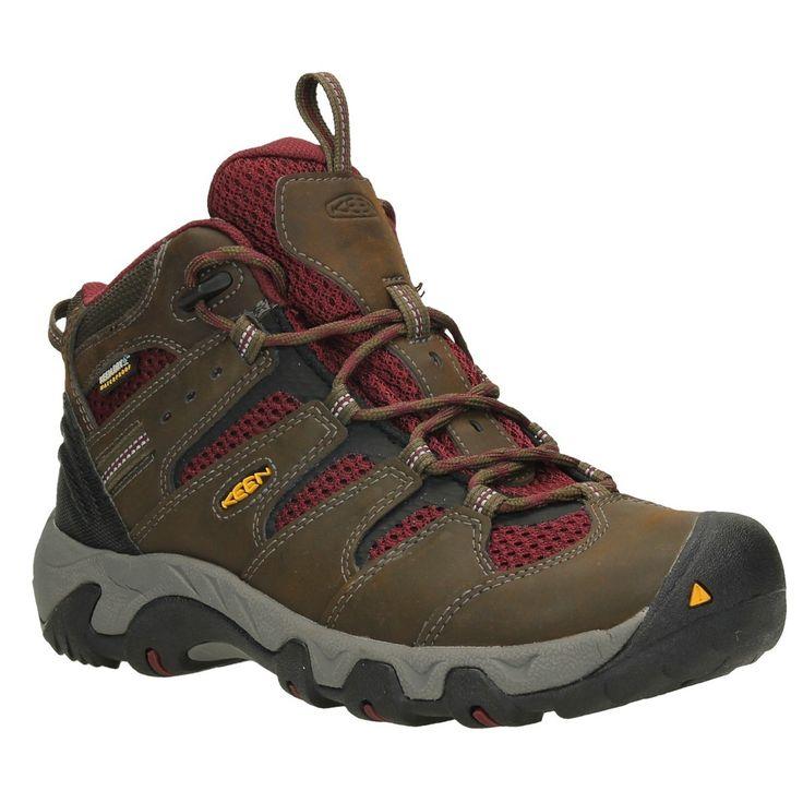 KeenKoven WP - Zapatillas de Trekking y Senderismo de Media Caña Hombre, Color Marrón, Talla 48